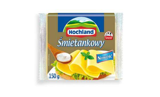 Ser topiony w plastrach Śmietankowy - nowość w ofercie Hochland