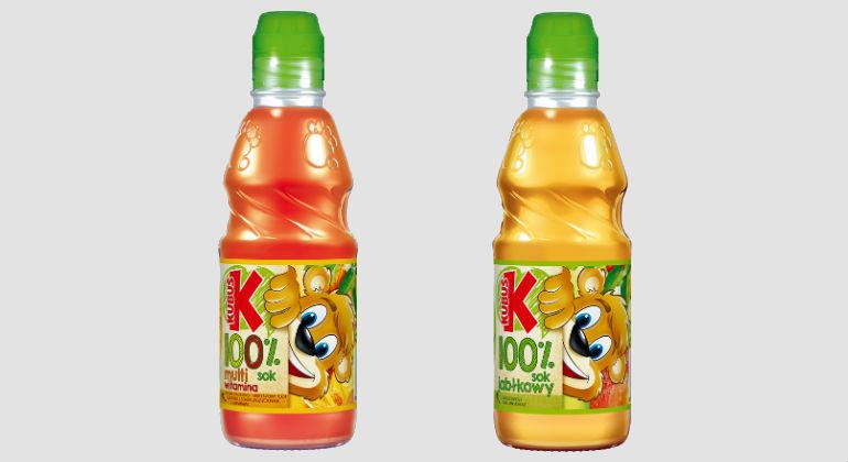 Kubuś 100% Jabłko i Multiwitamina - soki nieprzecierowe dla dzieci bez dodatku cukru