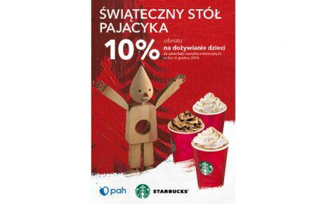 """Starbucks® partnerem akcji """"Świąteczny Stół Pajacyka"""""""