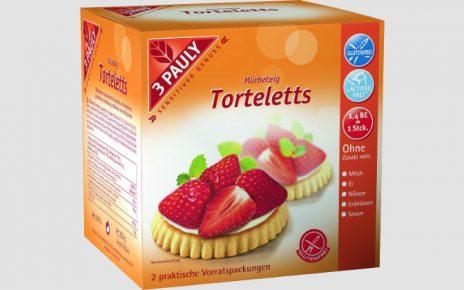 Kruche ciastka Torteletts bezglutenowe