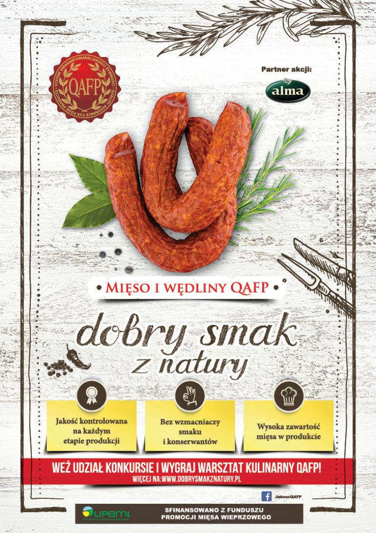 Kampania Mięso i wędliny QAFP. Dobry Smak z Natury