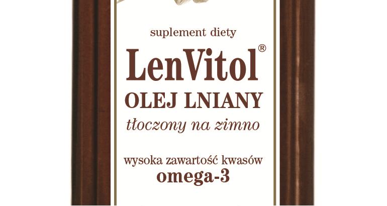 Olej lniany LenVitol tłoczony na zimno