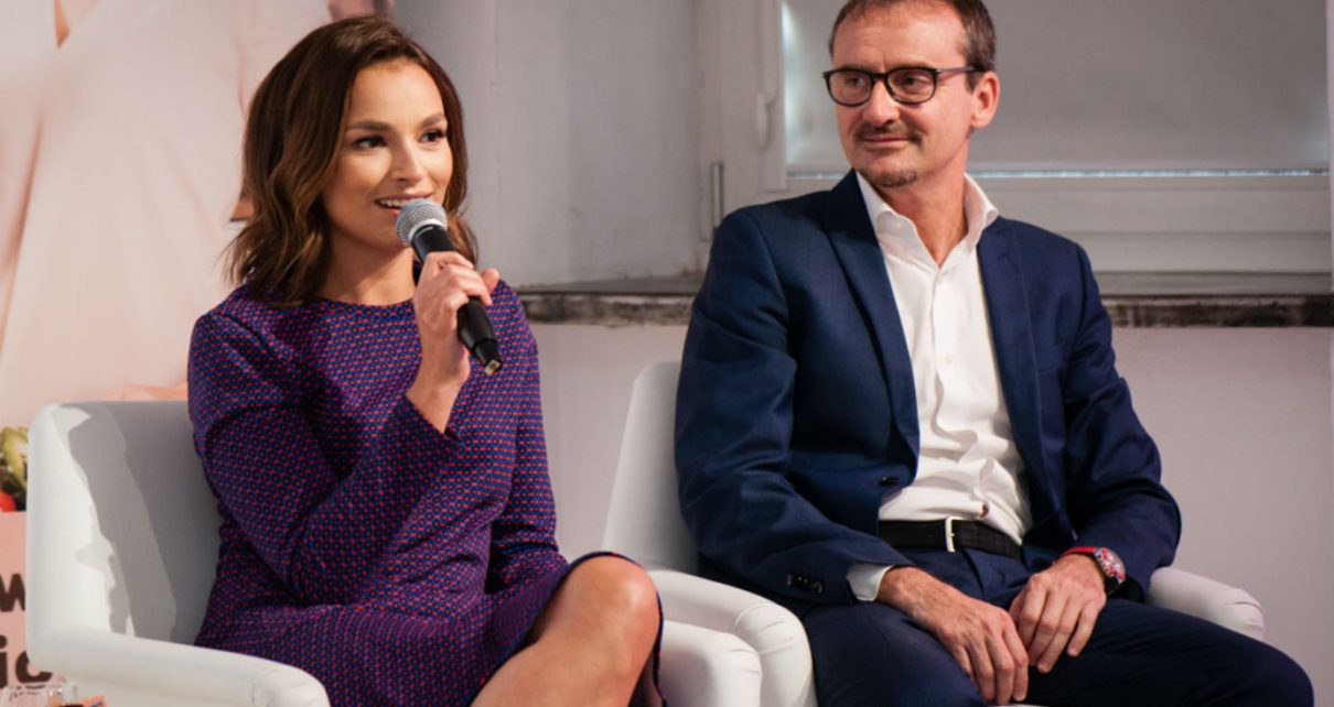 Anna Starmach konferencja prasowa Rio Mare