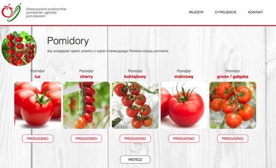Rejestr Producentów Pomidorów i Ogórków